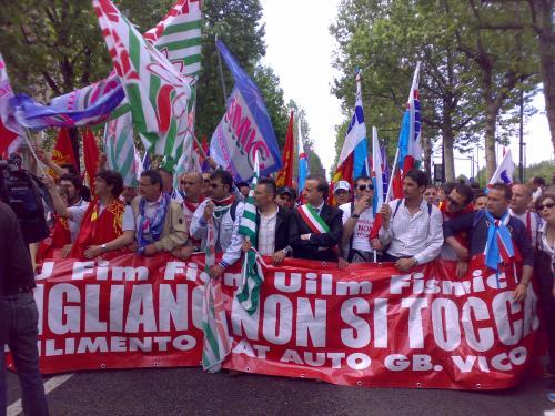 Manifestazione Fiat, sabato 16 maggio_6