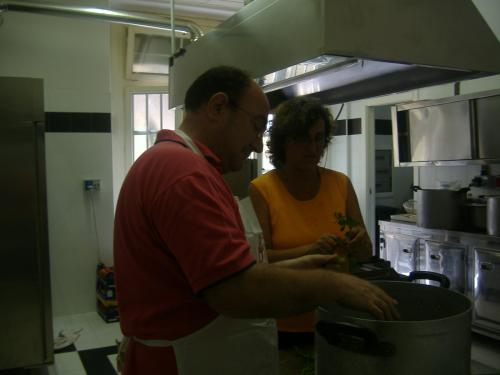Festa Fiom: in cucina