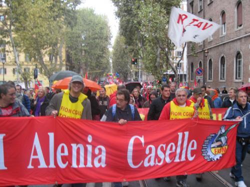 Manifestazione nazionale Fiom-Cgil, Roma, 16 ottobre_21