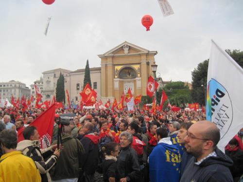 Manifestazione nazionale Fiom-Cgil, Roma, 16 ottobre_25