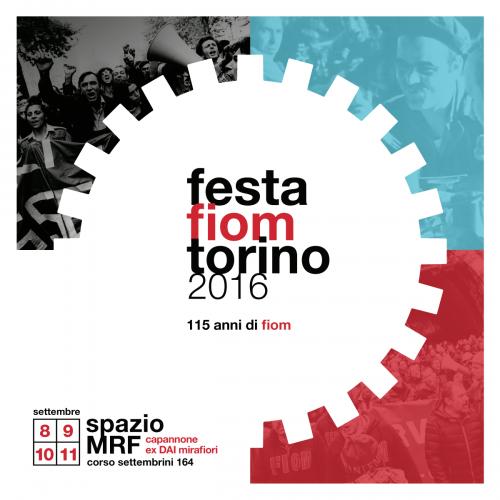 FESTA FIOM CGIL TORINO 2016